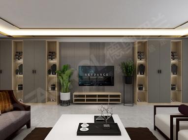 全铝电视柜D6-014 太空灰
